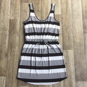Jersey by Jacob - Striped Sleeveless Dress